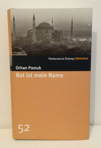 Pamuk Orhan, Rot ist mein Name