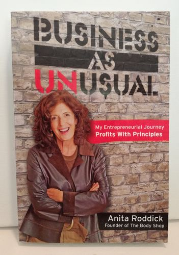 Roddick Anita, Business As Unusual